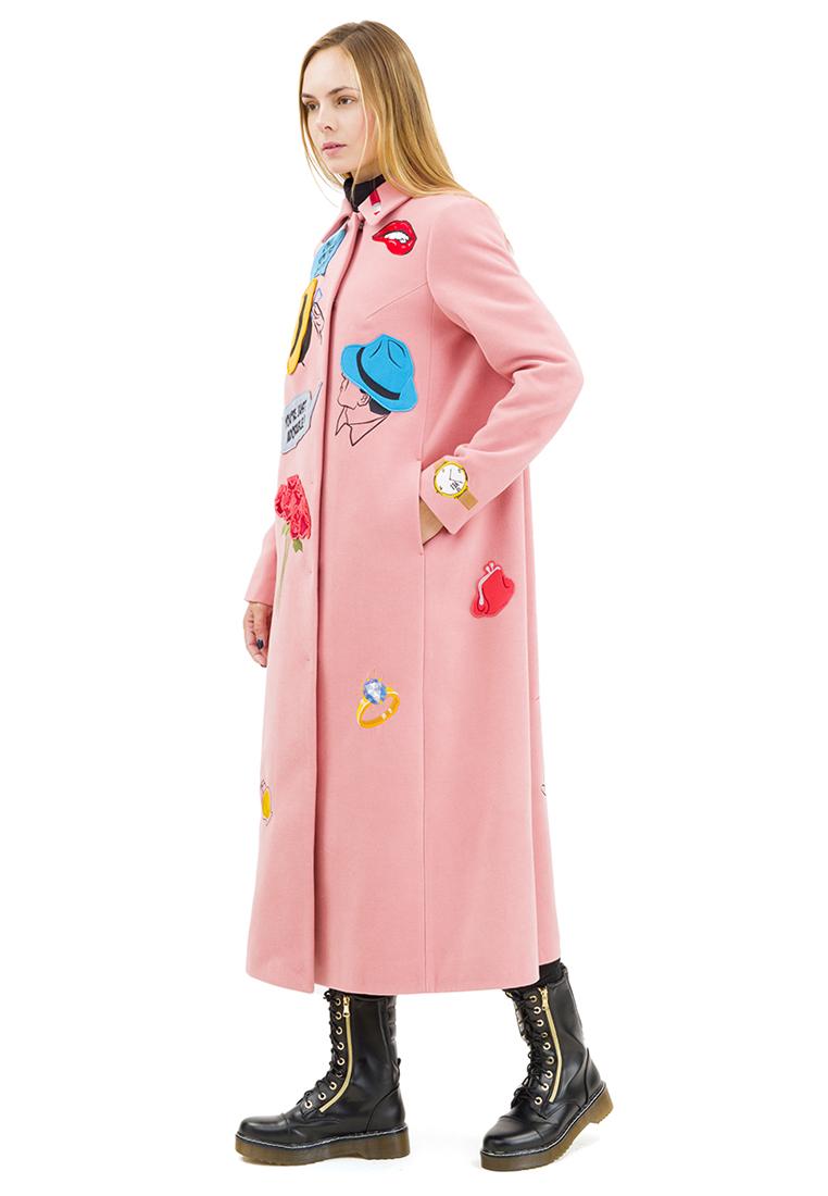 Женские пальто Pavel Yerokin SKS-80-розовый-40: изображение 12