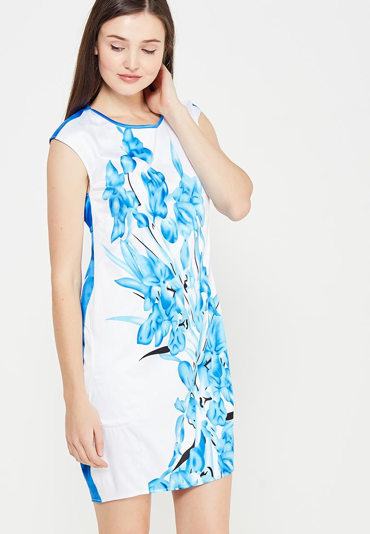 Платье Giulia Rossi 12-574/Беловасильковый44