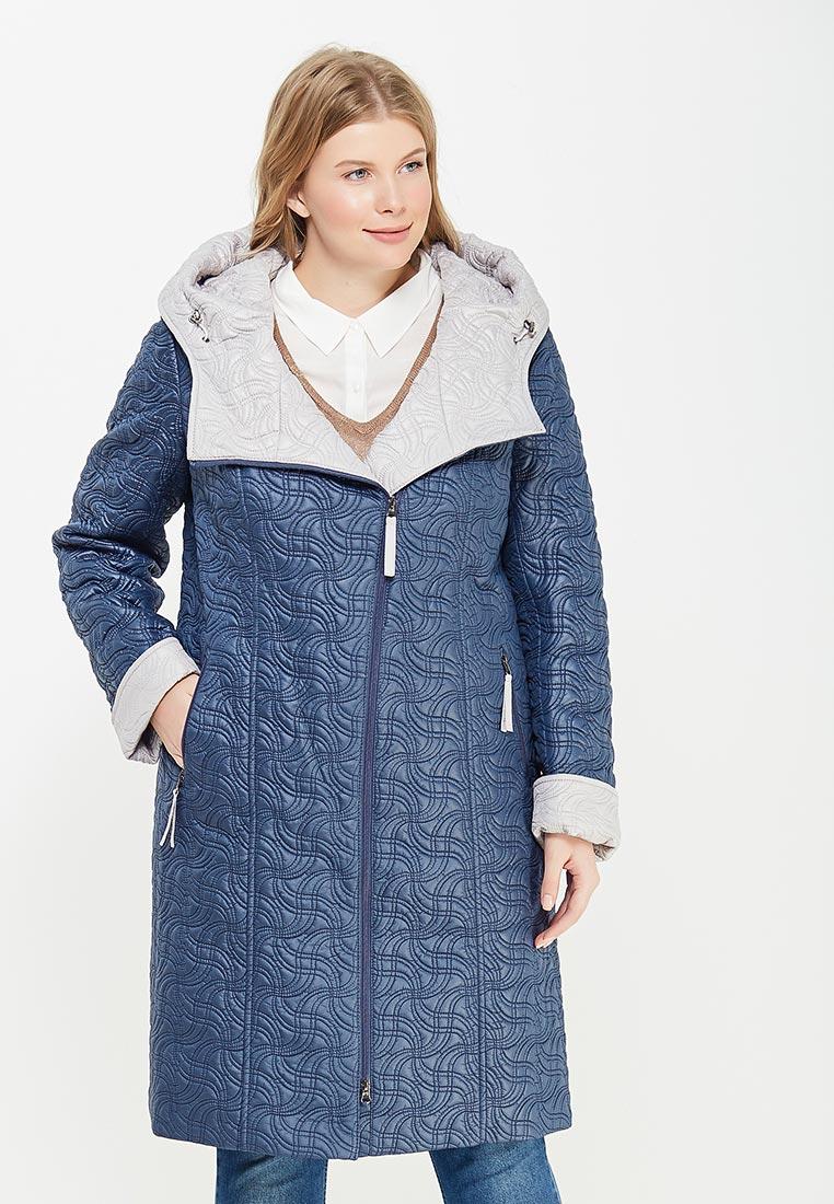Женские пальто Brillare 3-804-62/62sinij/sv.bezhevuj-50