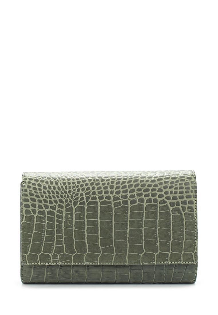 Клатч Fabula S.101.KR.серо-зеленый