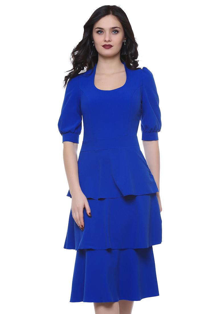 Вечернее / коктейльное платье Grey Cat GPl00115V(franky) синий 42