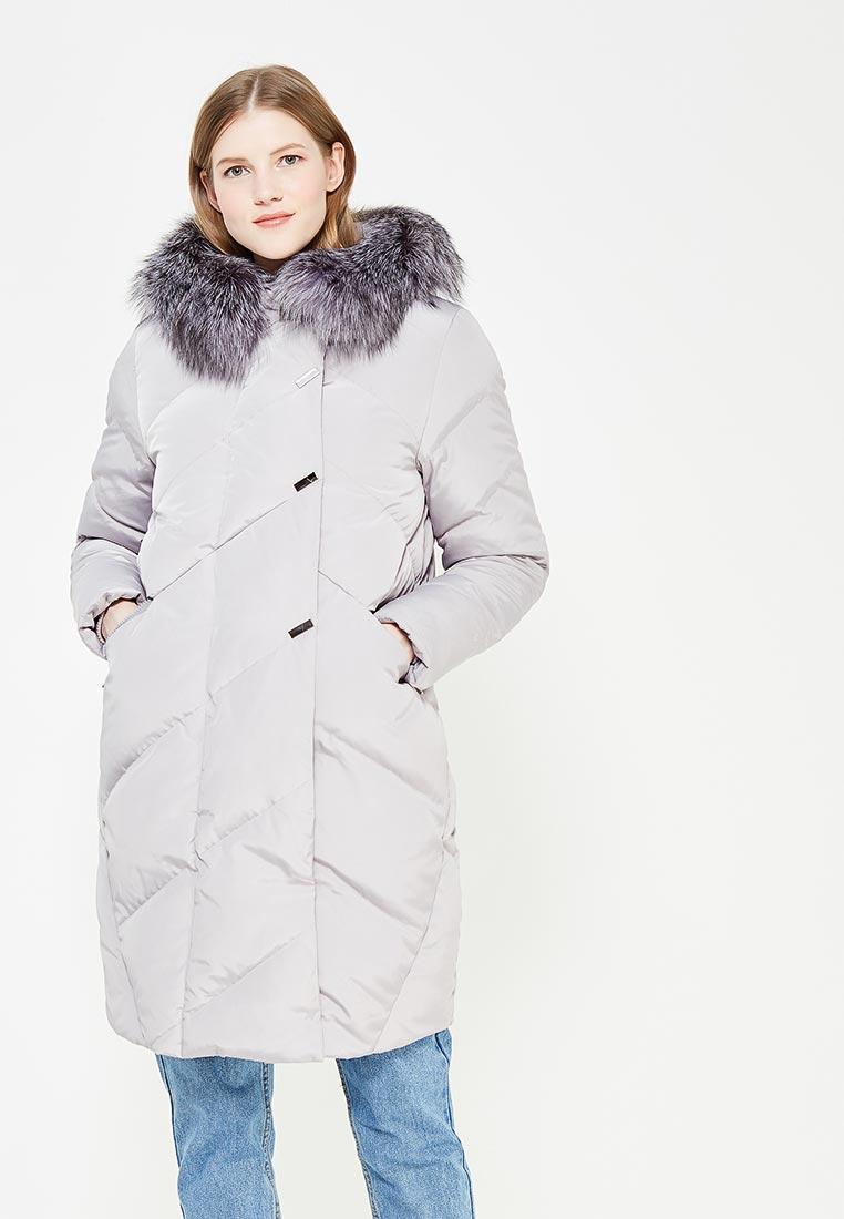 Утепленная куртка IST'OK Дарина Н (Серый светлый) 40