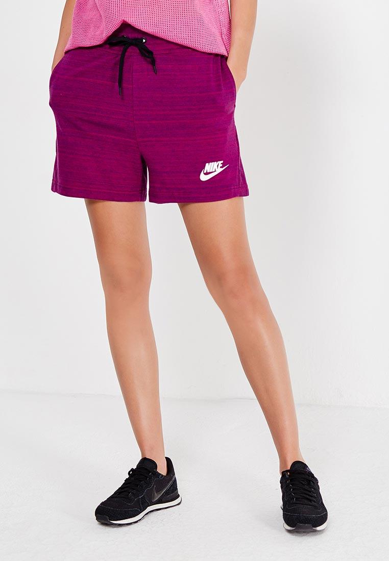 Женские спортивные шорты Nike (Найк) 837456-665