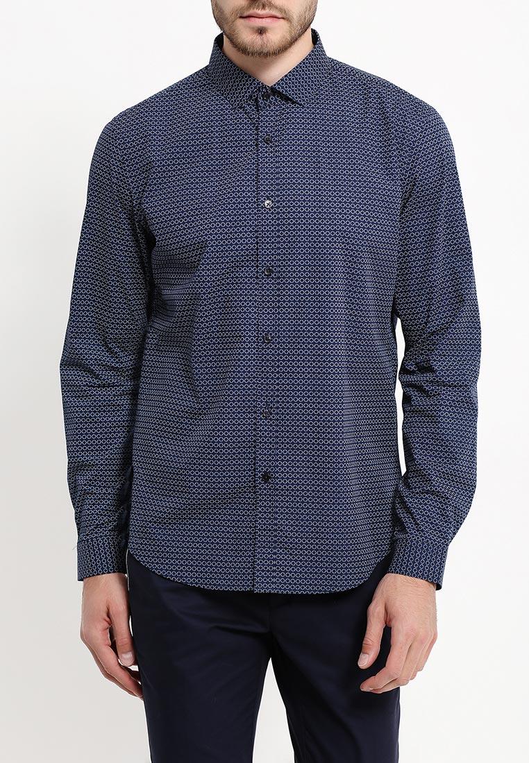Рубашка с длинным рукавом oodji (Оджи) 3L110204M/19370N/7510G: изображение 7