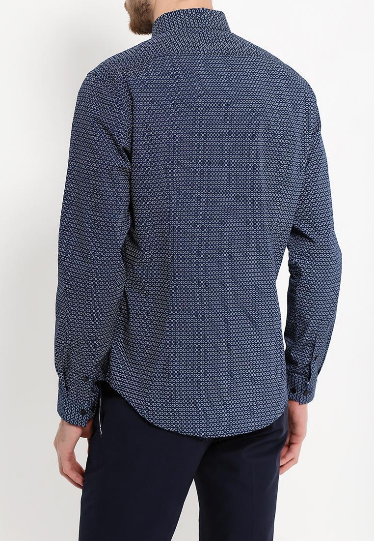 Рубашка с длинным рукавом oodji (Оджи) 3L110204M/19370N/7510G: изображение 8