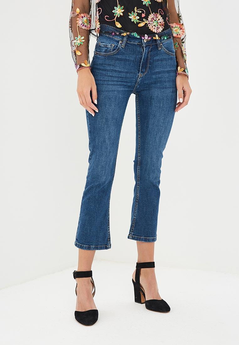 Широкие и расклешенные джинсы Pink Woman 3087.118
