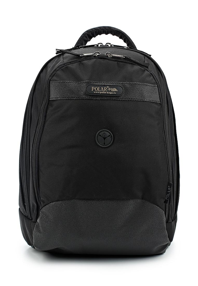 Городской рюкзак Polar П1286-05 черный: изображение 2