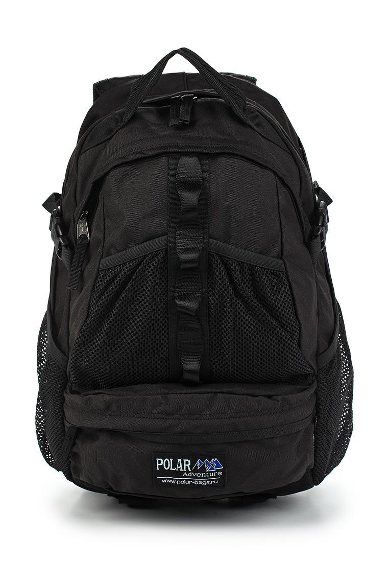 Городской рюкзак Polar П909-05 черный: изображение 1