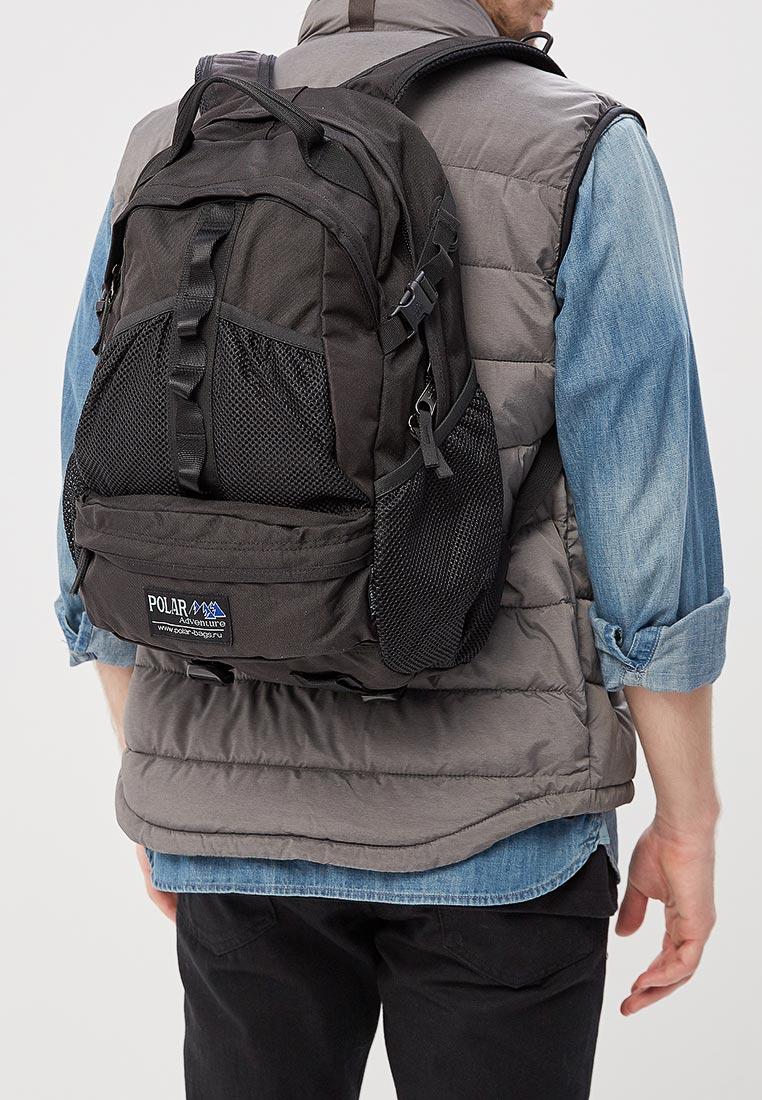 Городской рюкзак Polar П909-05 черный: изображение 4