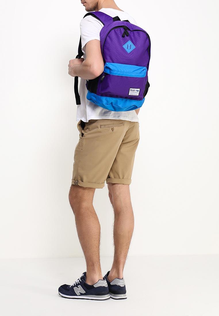 Городской рюкзак Polar 15008 Purple-Blue