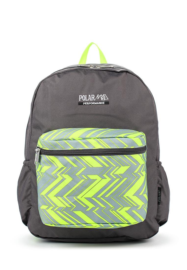Городской рюкзак Polar П2199 Grey/Green