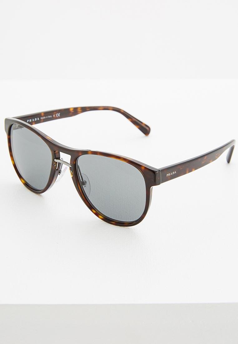 Мужские солнцезащитные очки Prada (Прада) 0PR 09US