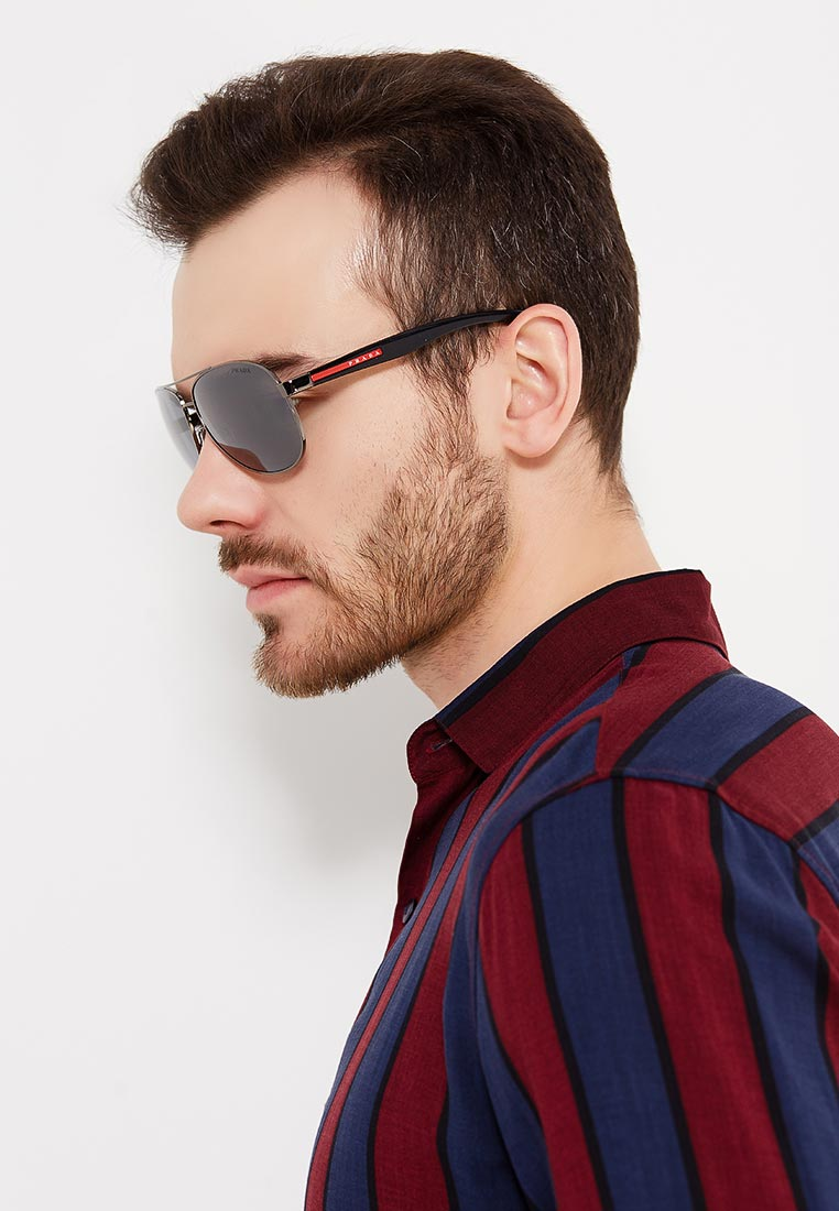 Мужские солнцезащитные очки Prada Linea Rossa 0PS 53PS