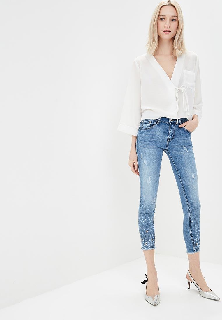 Зауженные джинсы Regular B23-QQ5015: изображение 5