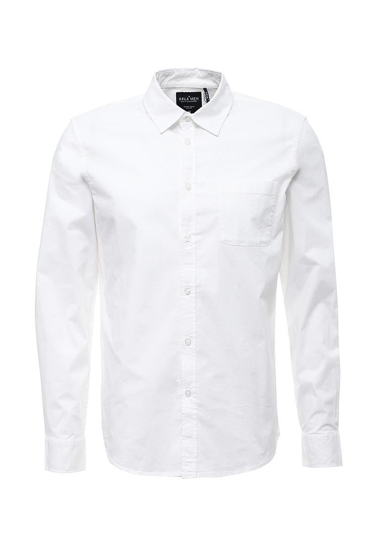 Рубашка с длинным рукавом Sela (Сэла) H-412/043-7310