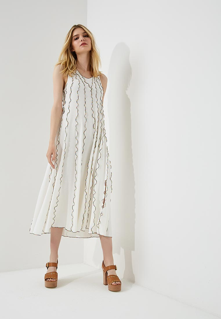 Белые вязаные платья - купить ажурное платье в интернет ...