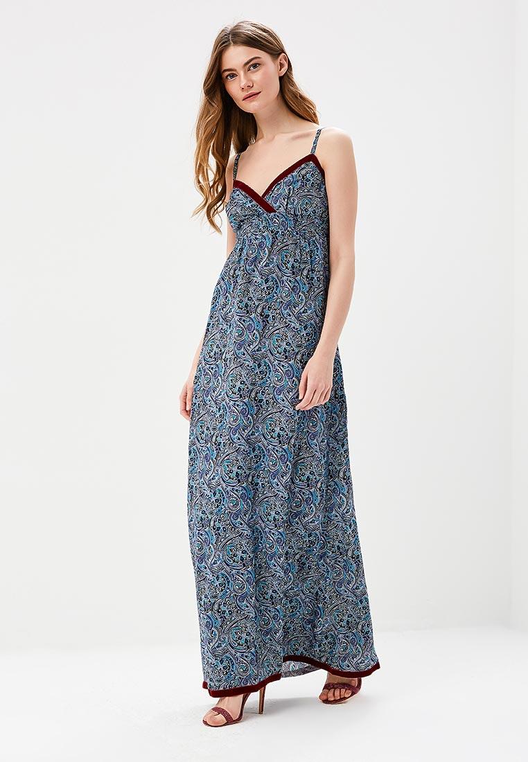 Платье-макси SK House #2211-GR1824 сир.