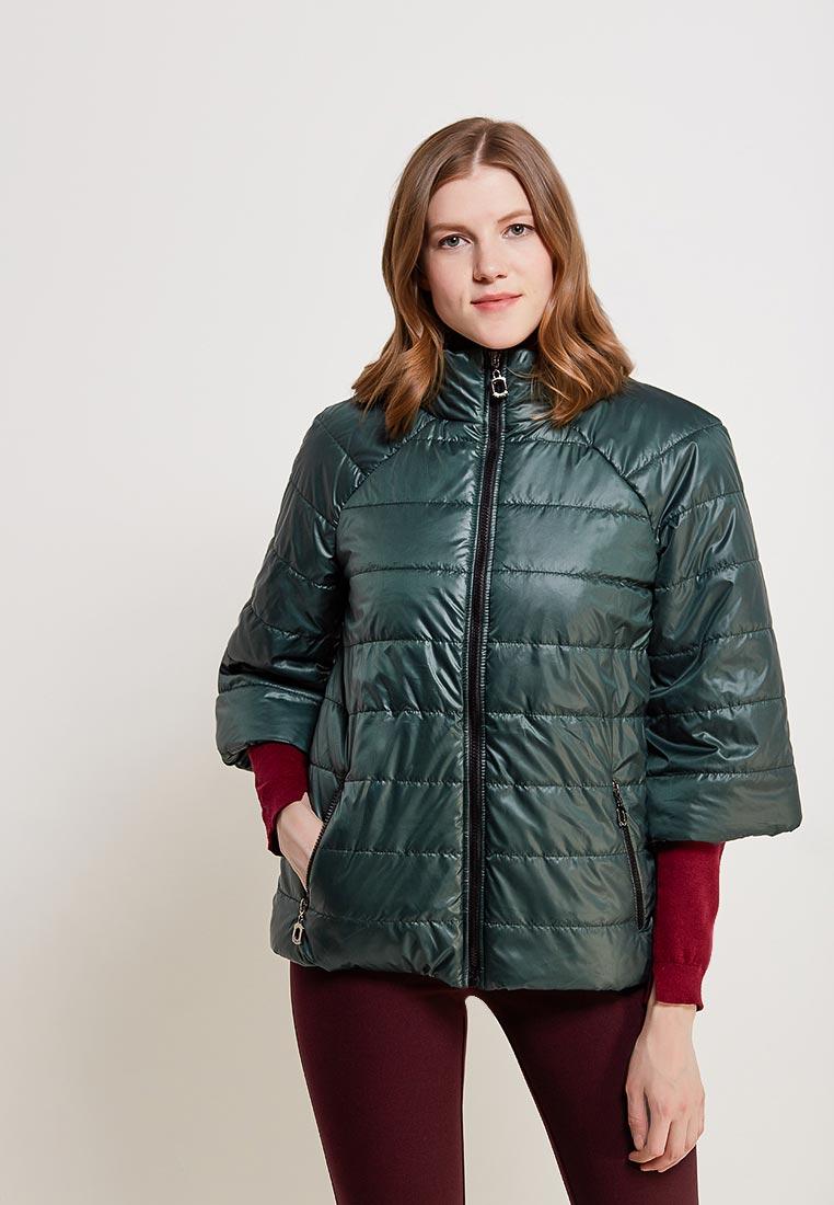 Утепленная куртка SK House #2211-7030 тем-зел.