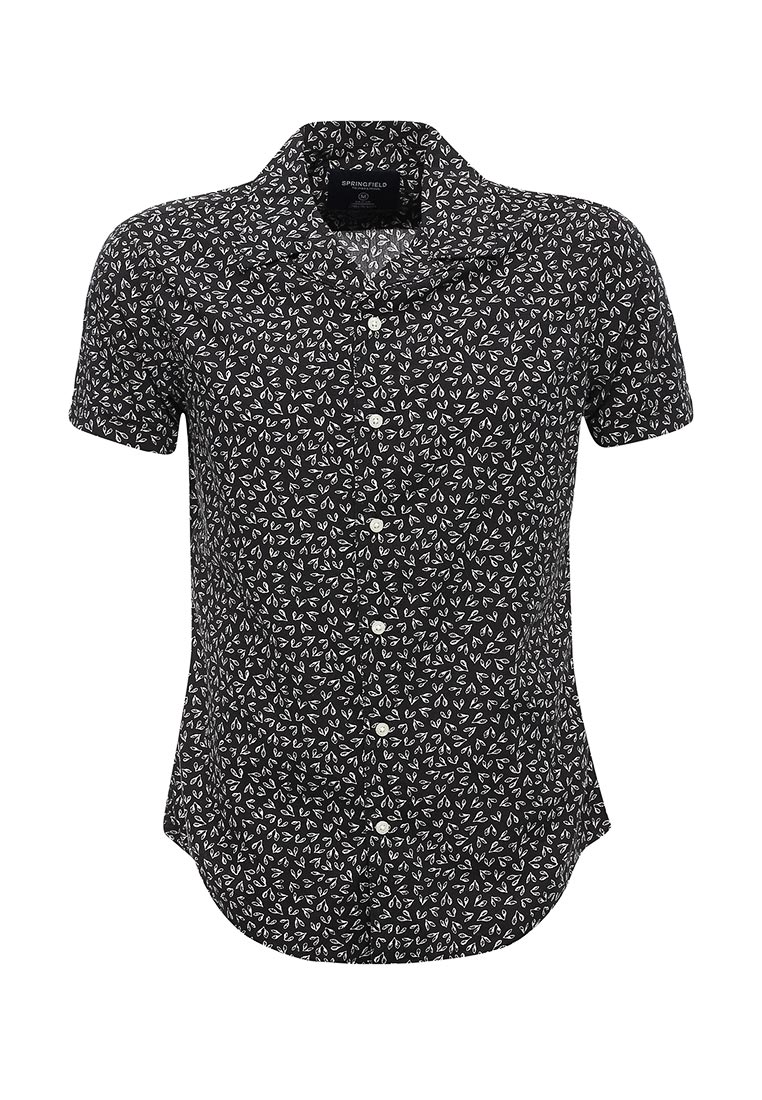 Рубашка с коротким рукавом Springfield (Спрингфилд) 379913