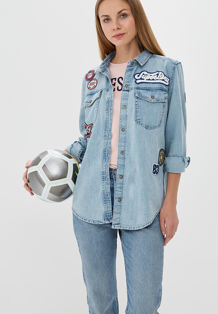 Женские джинсовые рубашки Superdry G40001RQ