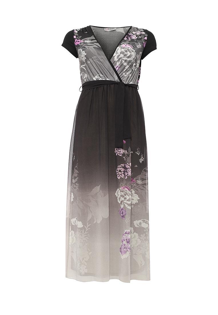 Повседневное платье SVESTA R494/1Gr
