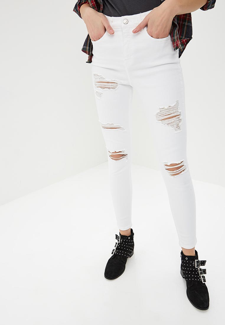 Зауженные джинсы Topshop (Топ Шоп) 02K35NWHT