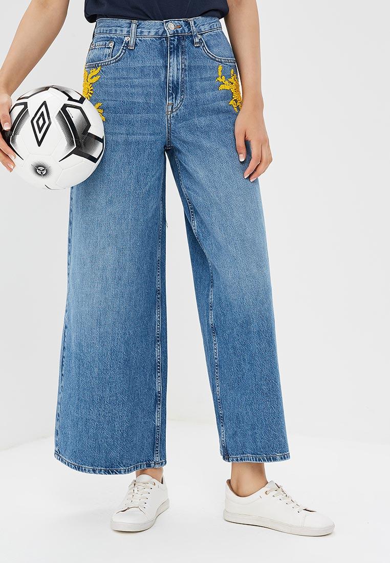 Широкие и расклешенные джинсы Topshop (Топ Шоп) 02C07NMDT
