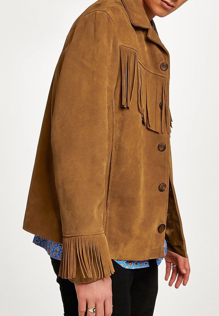 Кожаная куртка Topman (Топмэн) 64L03QTAN