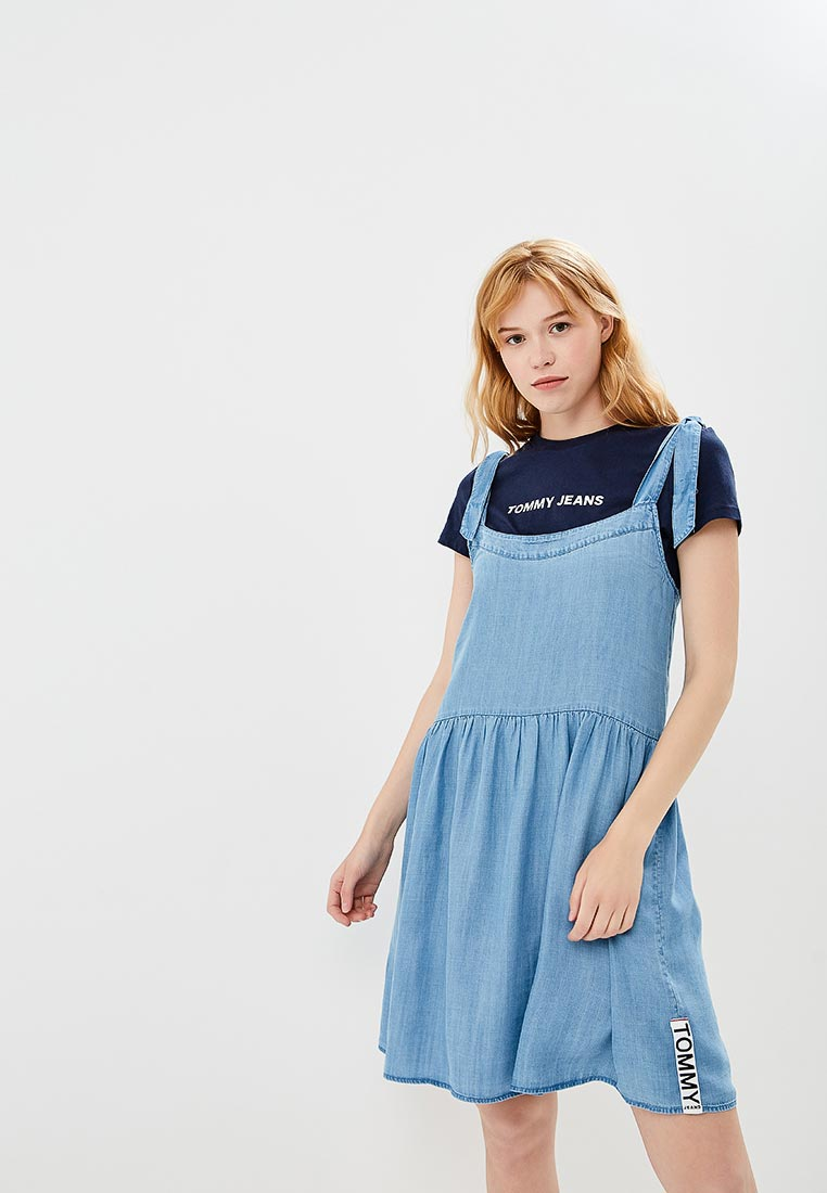 Женские платья-сарафаны Tommy Jeans DW0DW04491