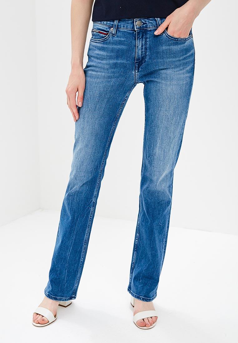 Широкие и расклешенные джинсы Tommy Jeans DW0DW04730
