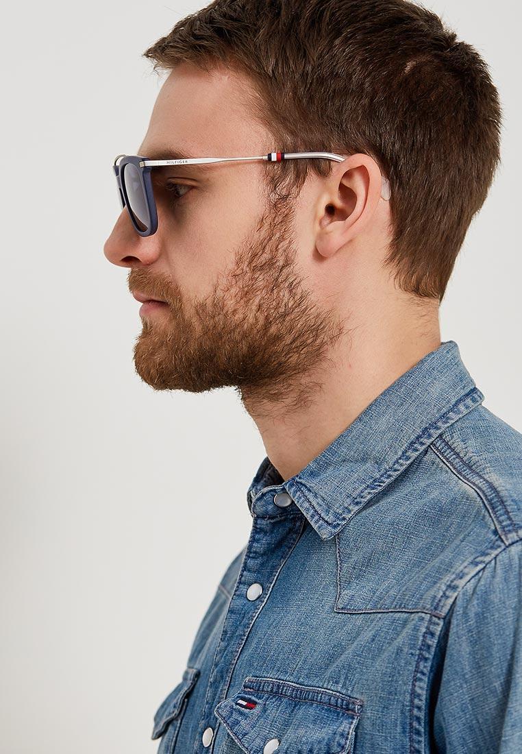 Мужские солнцезащитные очки Tommy Hilfiger (Томми Хилфигер) TH 1515/S: изображение 7