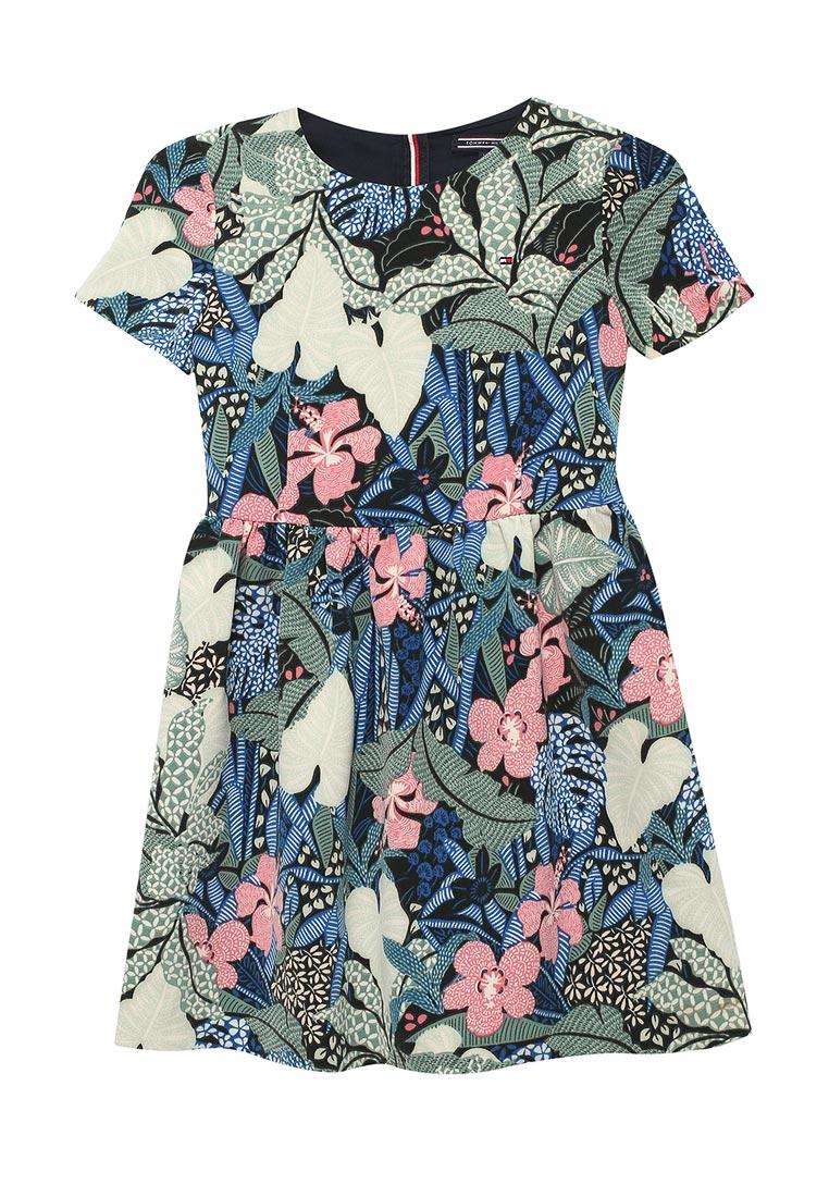 Повседневное платье Tommy Hilfiger (Томми Хилфигер) KG0KG03206