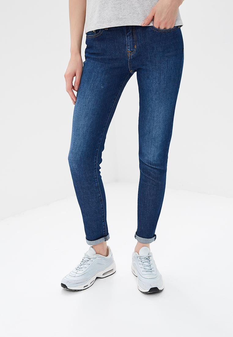 Зауженные джинсы Tommy Hilfiger (Томми Хилфигер) WW0WW22275: изображение 5