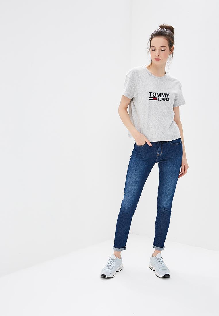 Зауженные джинсы Tommy Hilfiger (Томми Хилфигер) WW0WW22275: изображение 6