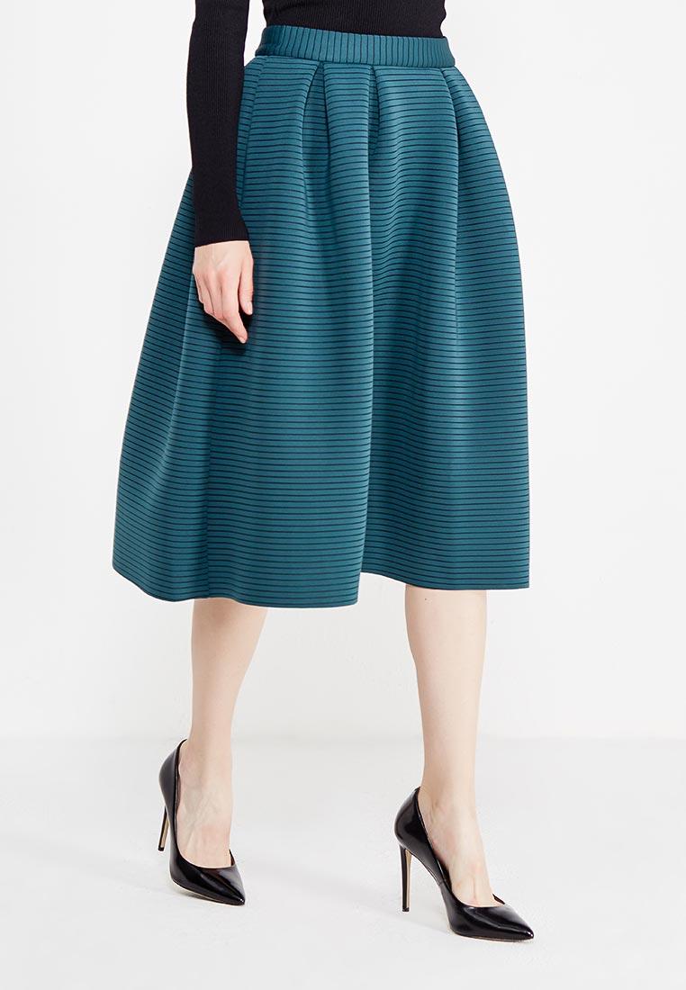 Миди-юбка TrendyAngel TAFW18S0002/Зеленый