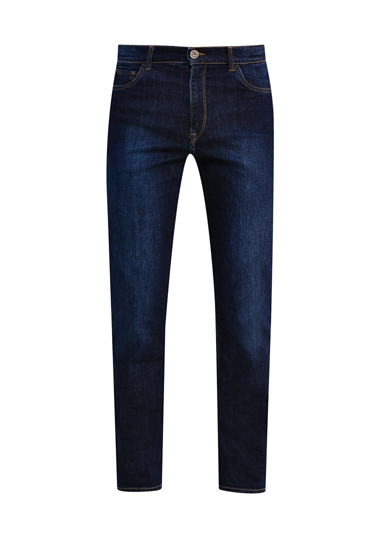 Мужские прямые джинсы TRUSSARDI JEANS (Труссарди Джинс) 52j00001