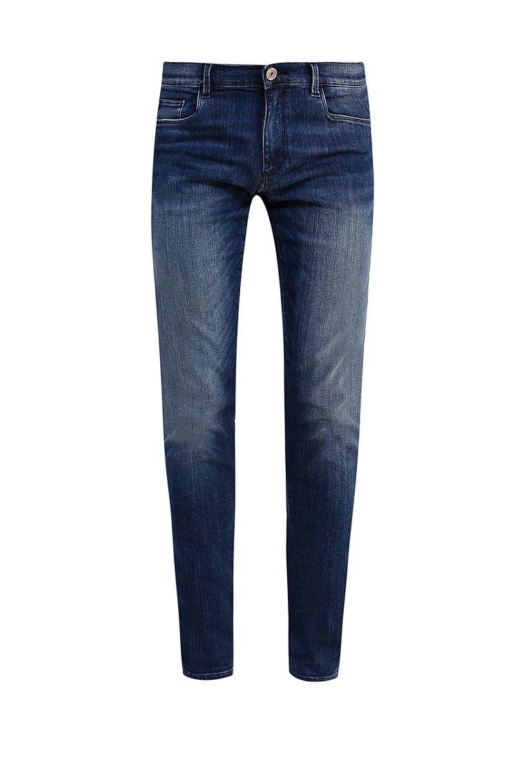 Зауженные джинсы TRUSSARDI JEANS (Труссарди Джинс) 52j00000
