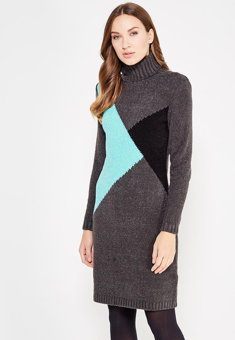Вязаное платье VAY 2215
