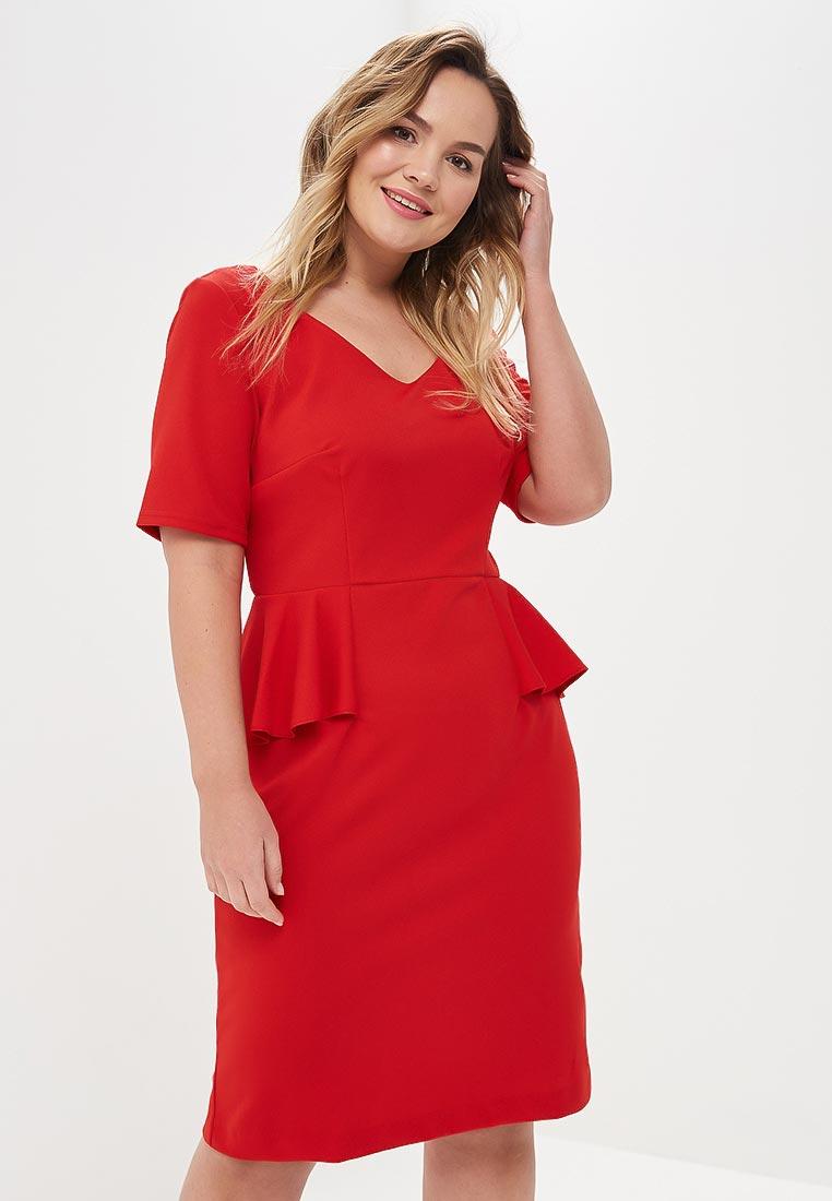 Повседневное платье Wersimi W02_RED