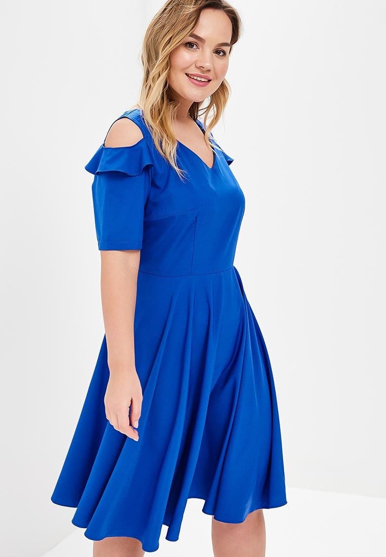 Летнее платье Wersimi W10_COBALT