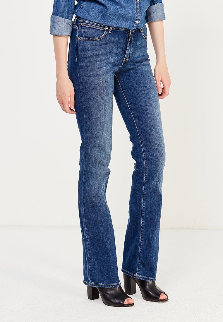 Широкие и расклешенные джинсы Wrangler (Вранглер) W28BX785U: изображение 8