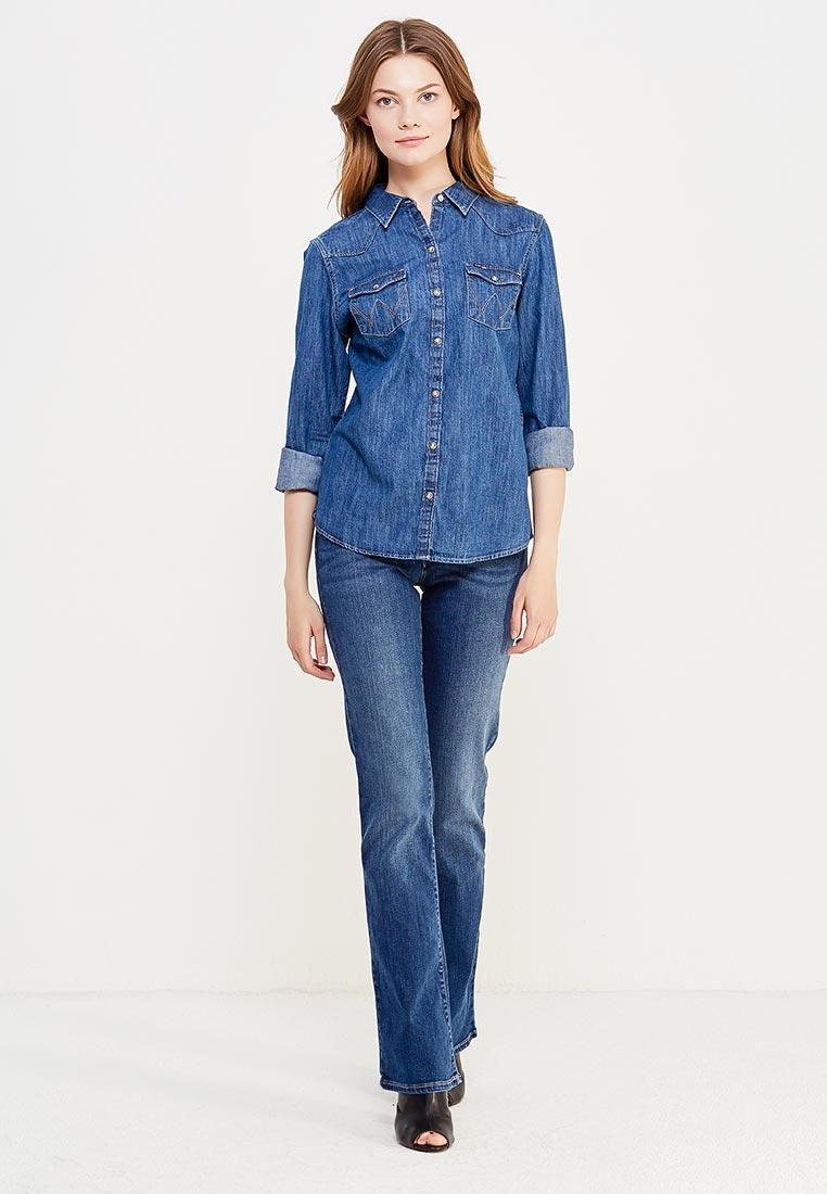 Широкие и расклешенные джинсы Wrangler (Вранглер) W28BX785U: изображение 9