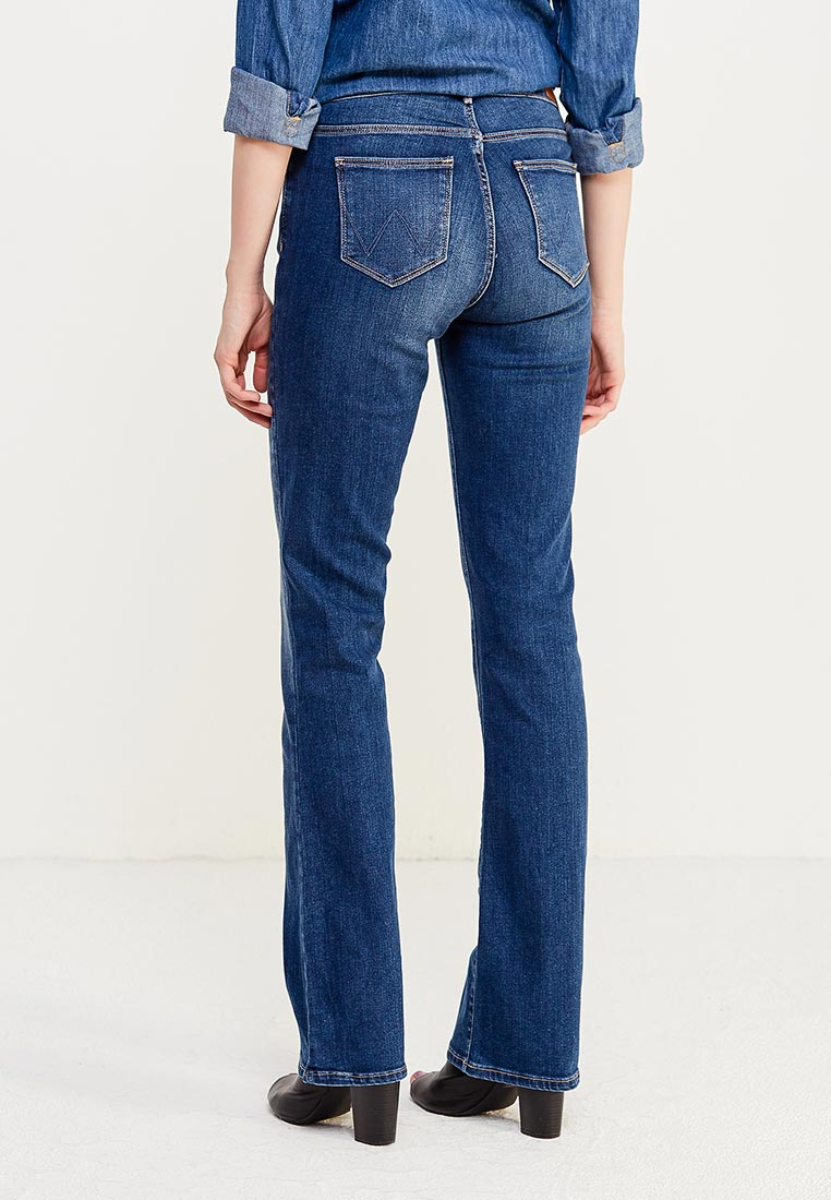 Широкие и расклешенные джинсы Wrangler (Вранглер) W28BX785U: изображение 10