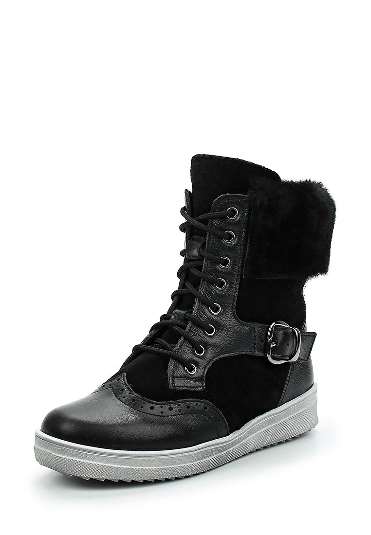 Ботинки для мальчиков Зебра 12095-1